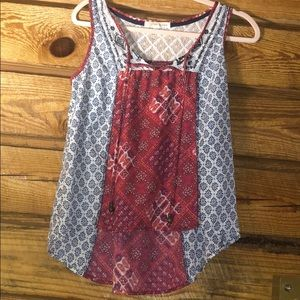dressy casual tank top